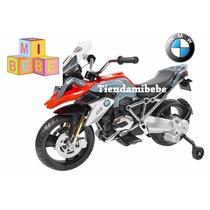 Moto A Bateria Niños Bmw 6v Con Rueditas, Luz Y Sonido Kiddy