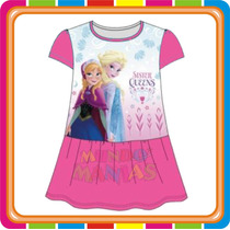 Vestido Camison Disney Frozen Elsa Anna - Mundo Manias