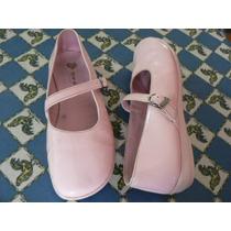 Zapato Sandalia Comunion Casamiento Rosado Nº 33 Toot