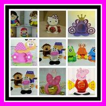 Porta Bombon Vacio Souvenir Cumpleaños Infantiles