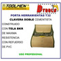 Porta Herramienta Toolmen T32 Clavera Doble Cementista