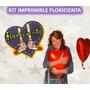 Kit Imprimible Floricienta