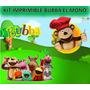 Kit Imprimible Bubba El Mono