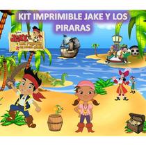 Kit Imprimible Jake Y Los Piratas