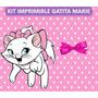 Kit Imprimible Gatita Marie