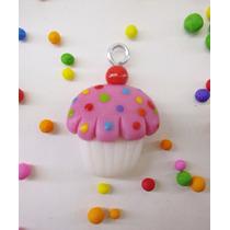 10 Dijes Cupcakes De Porcelana Fria Ideal Cintas 15 Años