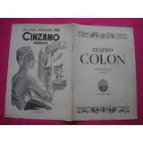 Programa Teatro Colon Temporada 1946 - Concierto Sinfónico
