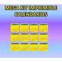 Mega Kit Imprimible Calendarios 2014- 2015