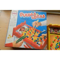Juego De Mesa Retro Pulgas Locas 1988