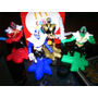 Coleccion Power Rangers Super Samurai Mc Donalds
