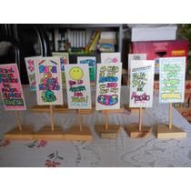 Cartel / Souvenir Para El Día Del Maestro 11 De Septiembre