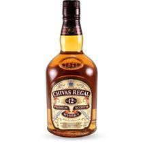 Whisky Chivas Regal X Litro - Con Estuche - Original.