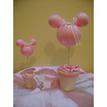 Souvenirs Topiarios Mickey Minnie,bautismo,nacimiento!!