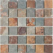 Piedra Natural Oxido Malla 30x30 X Pieza Apto Piso / Pared.