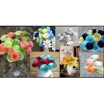 Flores De Papel X 12