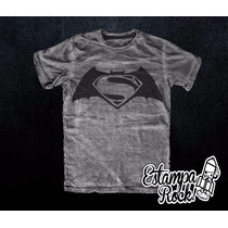 Remeras Batman V Superman Dawn Of Justice - Exclusivas!
