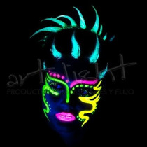 Maquillaje Fluo - Fluorescente - Fluor - Por Mayor - 48 Unid