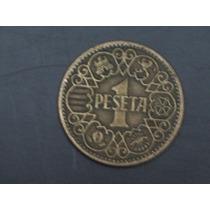 Lote De 1 Moneda De España, 1 Peseta Año 1944