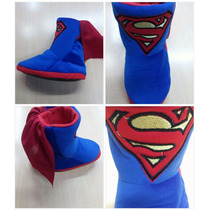 Pantuflas Superman Niños Infantil