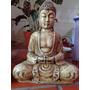 Figura Buda Simil Piedra Decoracion Zen, Regalo
