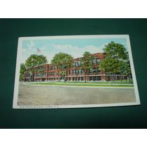 Tarjeta Postal High School Building Huron Estados Unidos Usa
