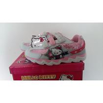 Zapatilla Hello Kitty Con Luz!! Footy