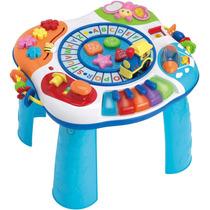 Mesa Didactica De Actividades Para Bebe Tren Piano Win Fun