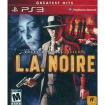 L.a Noire Ps3 Nuevo Sellado Original