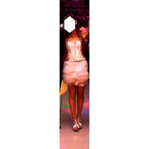Vestido De 15 Años Corto 2 Piezas