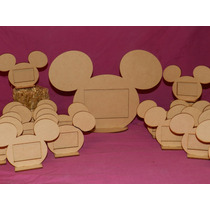 Souvenir Cumpleaños, Portaretrato Mickeyx1 + 20 Miniporta.