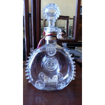 Hermoso Botellon De Cristal De Baccarat Sellado Cognac