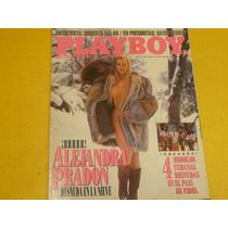 Revista Playboy Argentina #80 Ago 1993 Alejandra Pradon