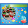 Juguetes Cup-cakes De Tela X 3 Unidades