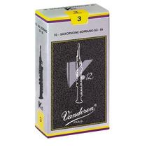 Caja De 10 Cañas Para Saxo Soprano Vandoren V12