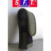 Porta Cargador Simple Para Pistola Molle Verde - Sft®