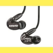 Auriculares Intraurales Shure Se215-k Profesionales