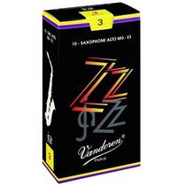 Caja De 10 Cañas Para Saxo Alto Vandoren Zz (jazz)