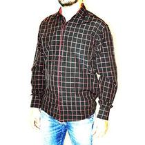 Camisa Mangas Largas A Cuadros Hombre Cartera Zeff Apparel
