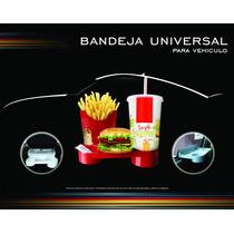 Accesorio Bandeja Auto Vehículo Porta Alimento Mate Termo