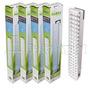 Kit 4 Luces De Emergencia 60 Led´s Sonex 15 Hs 2 Posiciones
