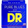 Dr Pure Blues De Bajo 4 Cuerdas Quantum Niquel .045 Y .040