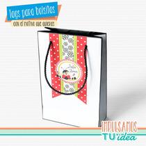 Vaquita De San Antonio - Tag Bolsita Para Imprimir