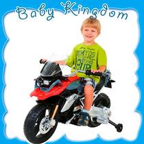 Moto De Paseo A Bateria Para Niños Bmw Kiddy Nueva Rueditas
