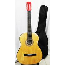 Guitarra Criolla Clasica Con Funda Marands Music
