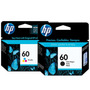 Combo Cartucho Hp 60 Negro+color Originales Cc640wl Cc643wl