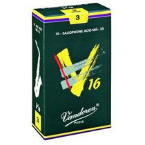 Caja De 10 Cañas Para Saxo Alto Vandoren V16