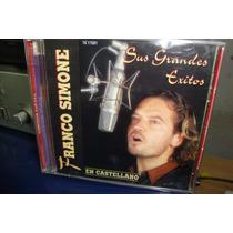 Franco Simone - Sus Grandes Exitos -en Castellano - Cd - $79