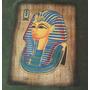 Papiro De Tutankamón, Papiro Marron. Cuadro Egipcio
