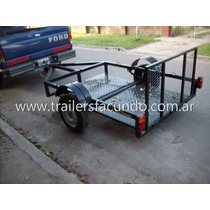 Trailer Piso Bajo Cuatris, Motos Etc. Stock Permanente