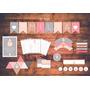 Baby Shower Nena Kit Imprimible Personalizado Deco 1 Año